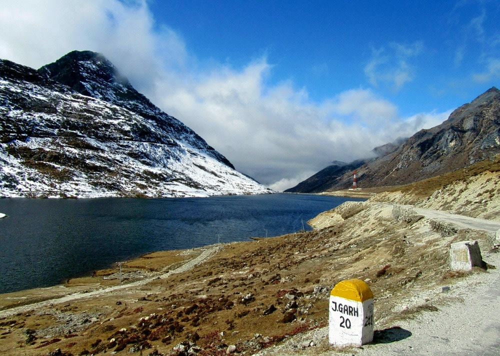 Places to visit in Tawang - Peng Teng Tso Lake