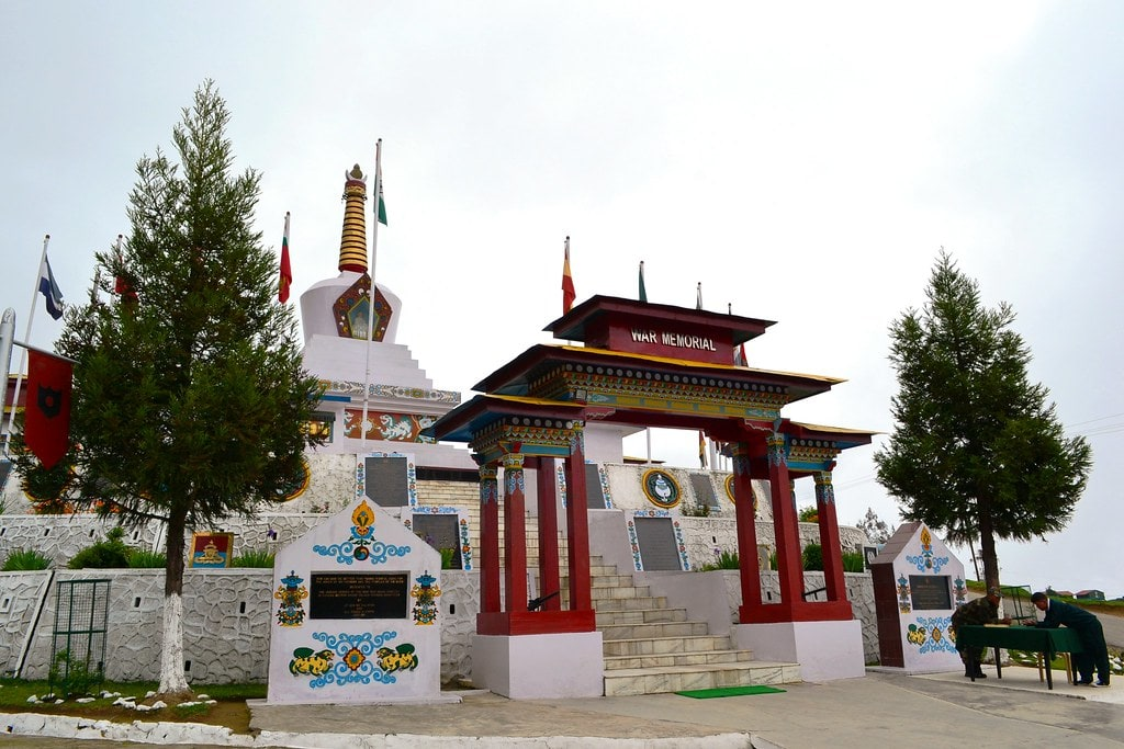 Places to visit in Tawang - Tawang War Memorial