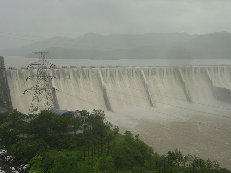 Biggest Dam in India - Sardar Sarovar Dam, Gujarat