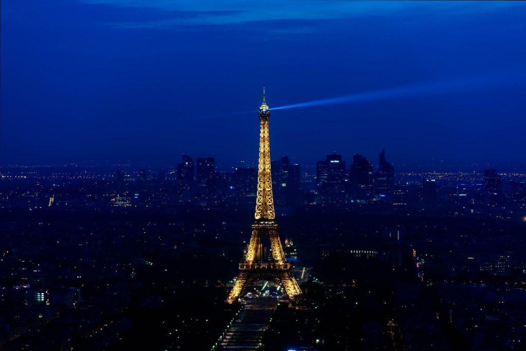 Visit Eiffel Tower at Night