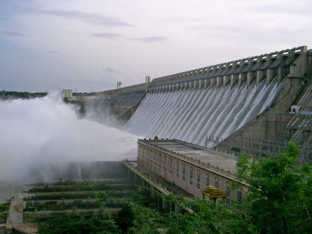 Biggest Dams in India - Nagarjuna Sagar Dam