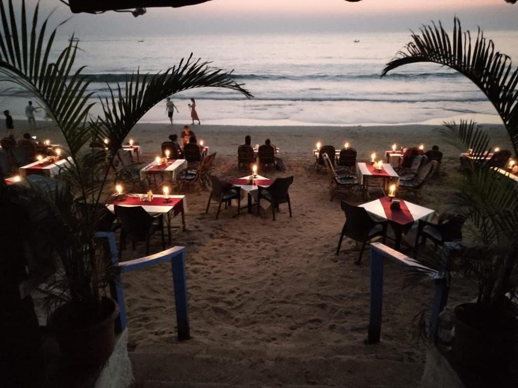 Where to stay in Goa India - Tina beach resort