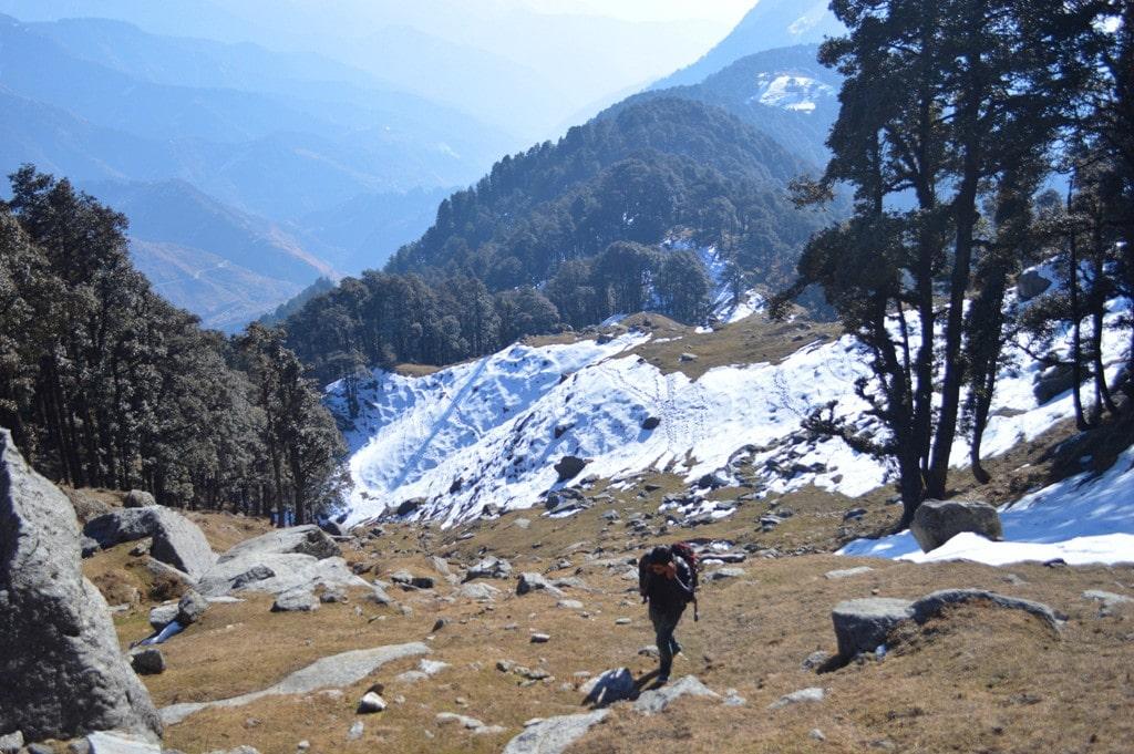 Trekking in Bir Billing