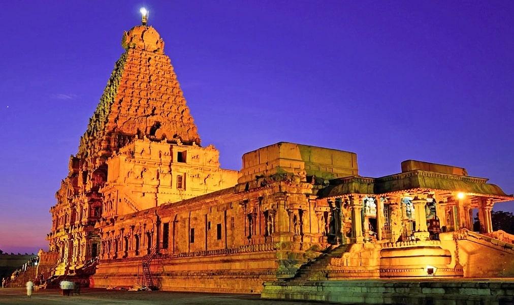 Famous Temples in Tamil Nadu - Travelpedia
